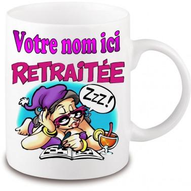 Mug Retraite femme
