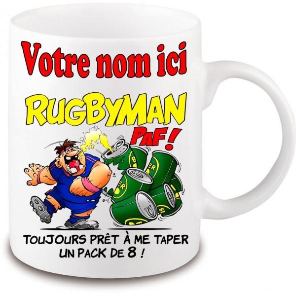 Mug Rugbyman