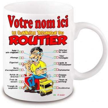 Mug Routier personnalisé