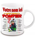 Mug Pompier