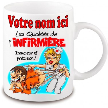 Mug Infirmière