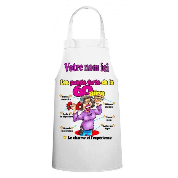 Tablier humour personnalis for Tablier cuisine humoristique