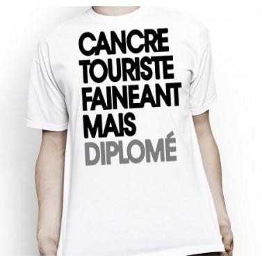 "Tee Shirt homme ""Diplômé"""