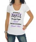 "Tee Shirt ""Mamie cool"""