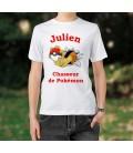 Tee-Shirt chasseur de pokémon