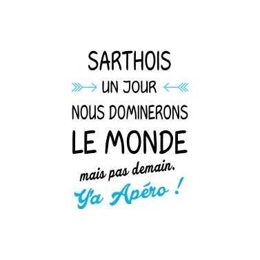 "Tee Shirt ""Sarthois"""