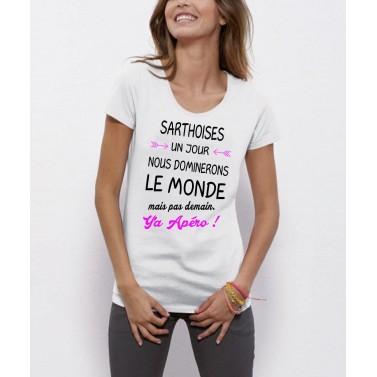 "Tee Shirt femme ""Sarthoises"""