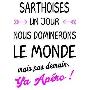 """Tee Shirt """"Sarthoises"""""""