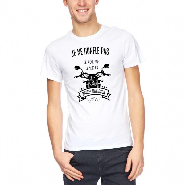 "Tee Shirt ""Harley Davidson"""