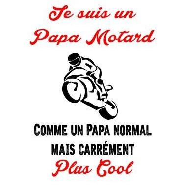 "Tee Shirt ""Papa motard"""