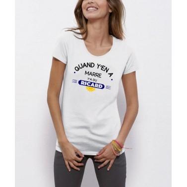 """Tee Shirt femme """"Ricard"""""""