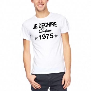 """Tee Shirt homme """"Je déchire"""""""
