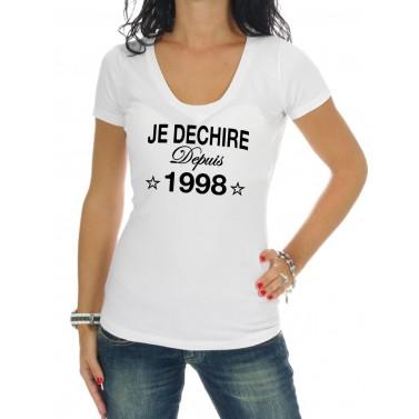 """Tee Shirt femme """"Je déchire"""""""