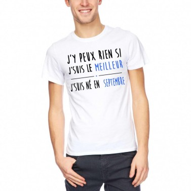 """Tee Shirt """"J'suis le meilleur"""""""