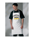 Tablier Papa en Or