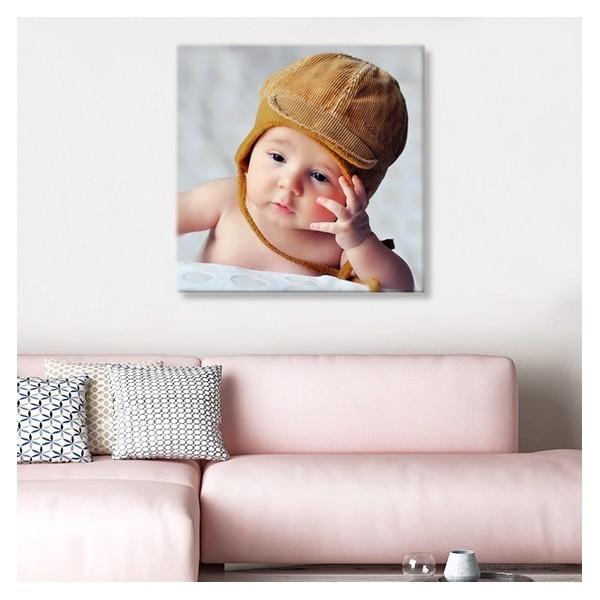 Photo sur toile 60 x 60 cm