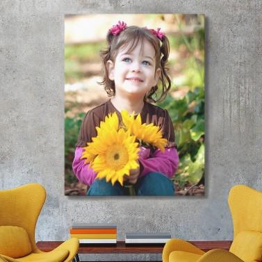 Photo sur toile 60 x 80cm portrait