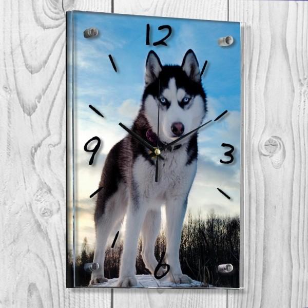 Horloge portrait personnalisée