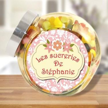 Bonbonnière personnalisée les sucreries