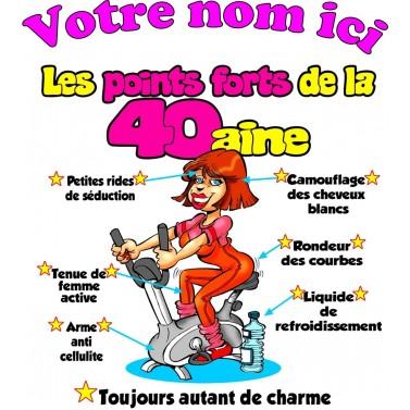 Tee Shirt Femme 40 ans