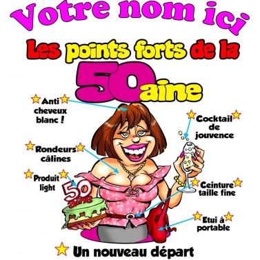Tee Shirt Femme 50 ans