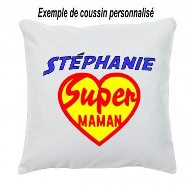 Coussin Super Maman Coeur