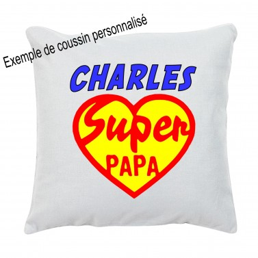 Coussin Papa love