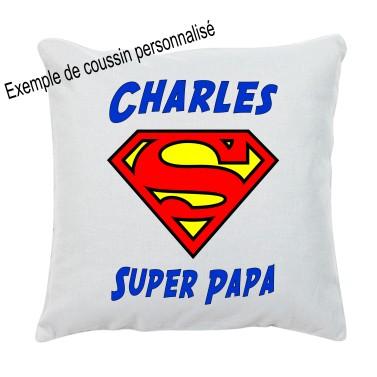 Coussin Super papa