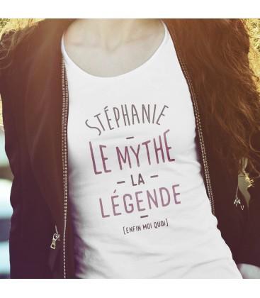 """Tee shirt femme """"le myhte la légende"""""""