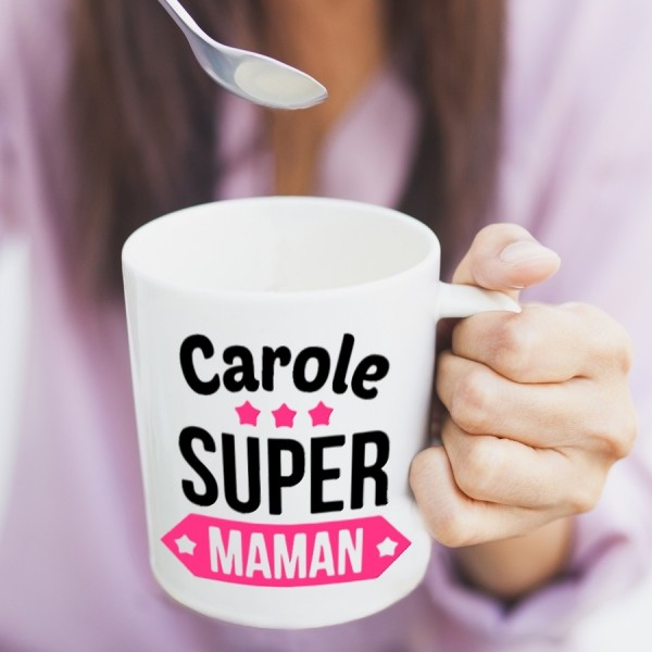 Mug Je suis une super maman