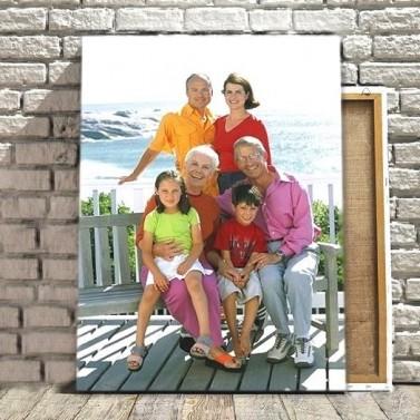 Photo sur toile 40 x 60cm portrait
