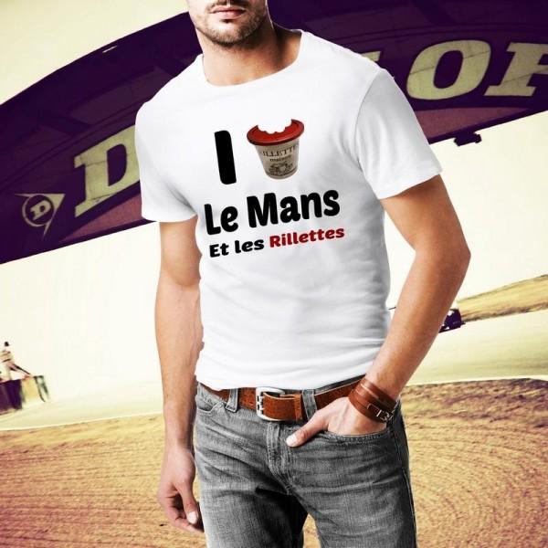 Tee shirt I Love les Rillettes du Mans