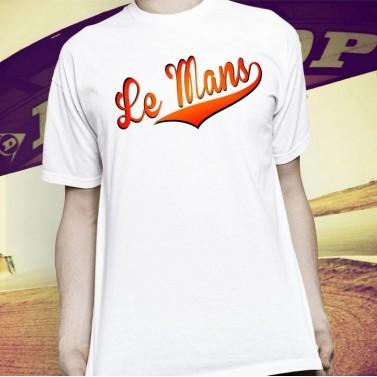 Tee shirt personnalisé Le Mans
