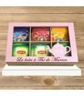 Boîte à Thé Personnalisée
