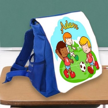Sac à dos enfant foot personnalisé