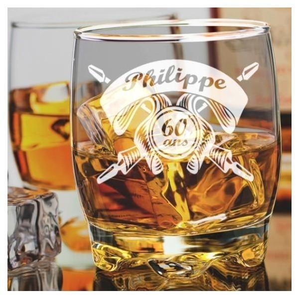 Verre à whisky Anniversaire gravé