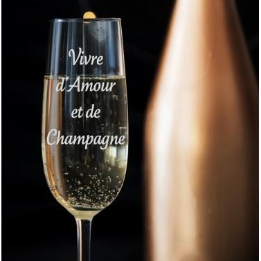 Verre Champagne à Personnaliser
