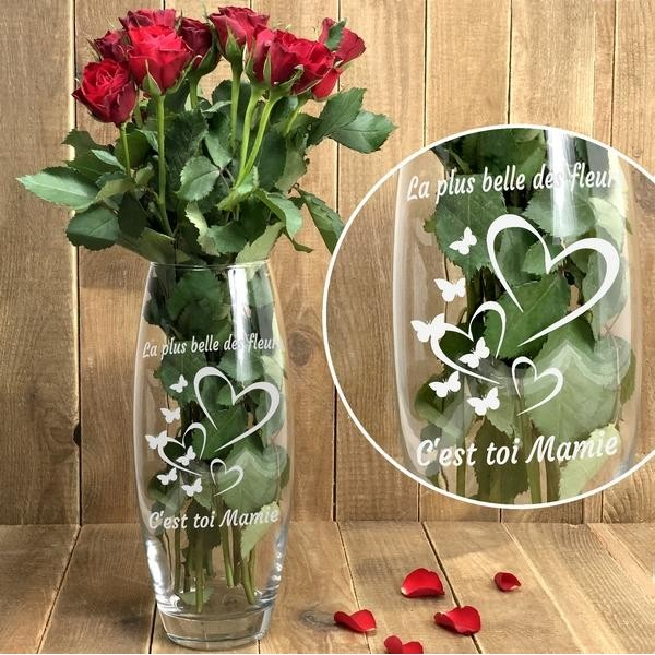 Vase Mamie à personnaliser