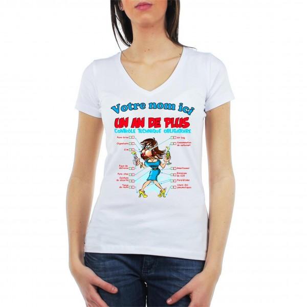 Tee Shirt Femme 1 an de plus