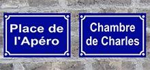 Plaque-de-rue-personnalisée